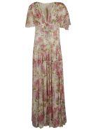 Giambattista Valli Floral Print Dress - Multicolor