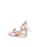 "Sophia Webster Sandals ""frida Mid"" - Metellic"