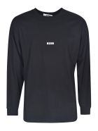 MSGM Chest Logo Sweatshirt - Nera