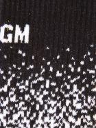 MSGM Branded Socks - White