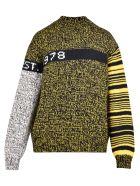 Calvin Klein Jeans Intarsia Sweater - Yellow