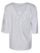 Dries Van Noten Embroidered Floral T-shirt - White