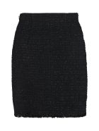Pinko Certo Tweed Mini-skirt - black