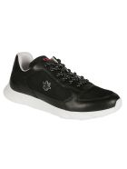 Christian Dior Blended Fabric Sneakers - Black