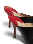 Paul Andrew Pointed Mules - Nero rosso