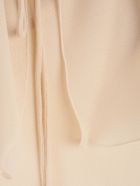 See by Chloé Frilled Neck Blouse - L Foggy Ivory