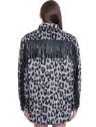 Andamane Evita  Casual Jacket In Beige Wool - beige