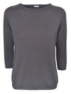 A Punto B Regular Fit Plain Sweater - Coffee
