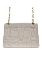 Salvatore Ferragamo Peony Quilted Leather Shoulder Bag - Peony