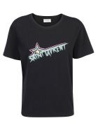 Saint Laurent T-shirt - Noir/multicolore