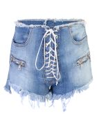 Ben Taverniti Unravel Project Denim Shorts - Blue