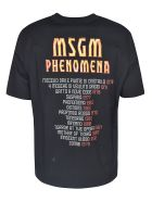 MSGM Phenomena T-shirt - Nera