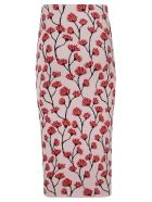 Be Blumarine Floral Skirt - pink