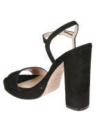 Stuart Weitzman Buckled Sandals - Black