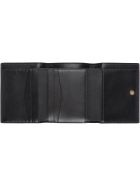 Givenchy Logo Detailed Leather Wallet - black