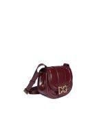Dolce & Gabbana Dg Amore Shoulder Bag - Bordeaux