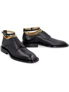 Jil Sander Leather Lace-up Shoes - black