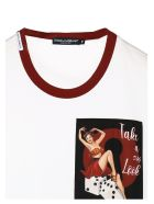 Dolce & Gabbana 'pin Up' T-shirt - White