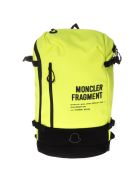 Moncler Genius Backpacks MONCLER FRAGMENT FLUO BACKPACK IN FABRIC