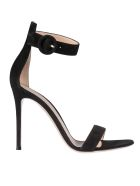 Gianvito Rossi Buckled Sandals - Black