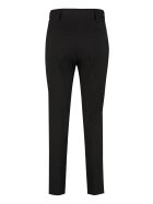 RED Valentino Virgin Wool Tailored Trousers - black