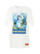 HERON PRESTON Heron Over Tshirt - Off white