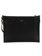 Rochas Logo Shoulder Bag - Black