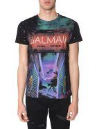 Balmain Crew Neck T-shirt - NERO