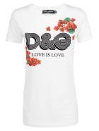 Dolce & Gabbana Love Is Love T-shirt - Bianco ottico