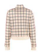 Fila Printed Zippered Sweatshirt - panna