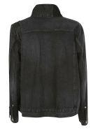 Sacai Glencheck Denim Jacket - C/gray blue check