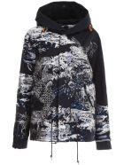 Mr & Mrs Italy Embroidered Mini Parka - NIGHT BLUE (Blue)