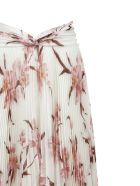 Zimmermann Floral Print Maxi Skirt - Avorio pesca orchidea