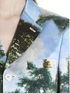 Comme des Garçons 'landscape' Coat - Multicolor