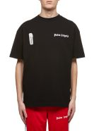 Palm Angels Side Logo T-shirt - Black