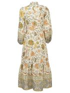 Zimmermann Edie Long Dress - Cream paisley