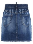 Dsquared2 'dalma Mini' Skirt - Blue