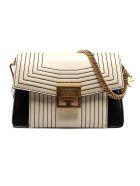 Givenchy Stitched Shoulder Bag - Egg White