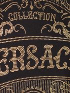 Versace Collection T-shirt S/s Over W/written - Nero Stampa