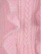 Philosophy di Lorenzo Serafini Philosophy Ruffled Detail Knit Sweater - PINK
