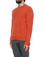 Drumohr Ocra Wool Sweater - Orange