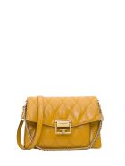 Givenchy Gv3 Small Bag In Matelassé Leather - Oro