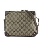 Gucci Gg Shoulder Bag - Beige