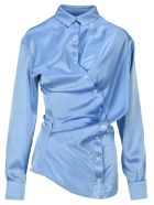 Y/Project Twisted Shirt - LIGHT BLUE