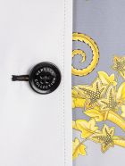 Versace Collection Signature Printed Trench - Ggrigio St