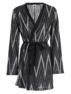 M Missoni Cardigan Long Lurex - H Nero Argento