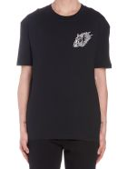 McQ Alexander McQueen 'flame Bunny' T-shirt - Black
