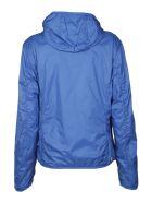 Colmar Side Logo Patch Zip Windbreaker - Azzurro