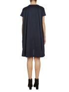 Sacai Stitched Detail Dress - Blue