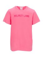 Helmut Lang T-shirts EMBROIDERED LOGO T-SHIRT